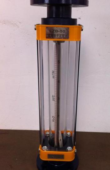 玻璃转子流量计的使用说明