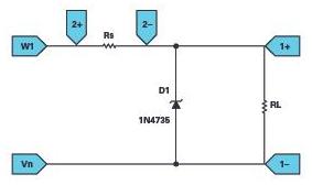 学子专区―ADALM2000:齐纳二极管稳威胁之下压器