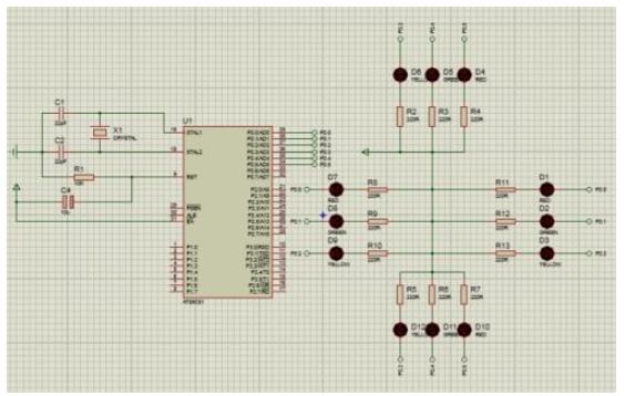使用单片机实现简易交通灯的程序和资料说明