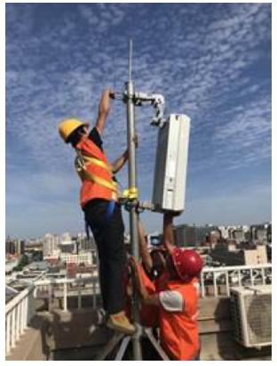 中国联通正在携手华为打造基于5G网络建设的全场景...