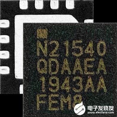 Nordicn RF21540即插即用型范围扩展器,可改进覆盖范围和连接稳健性