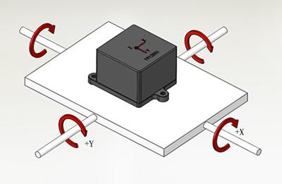 倾角传感器在无人机上的应用