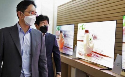 三星公布QD-OLED電視照片 產品批量生產就快了