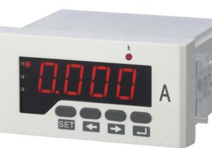 数显单相电流表的安装注意事项