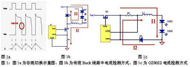 基于一款非隔离型高效率精准恒流的OZ8022驱动...