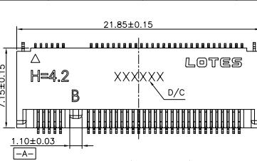 NGFF连接器M.2 H4.2 B KEY 67PIN蓝牙传感器的规范和原理图免费下载