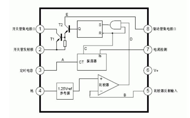 MC34063变换器控制电路的简介和应用电路图集
