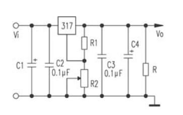 LM317的最小稳定工作电流如何计算