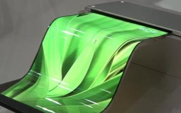 电容成像技术推动曲面或柔性显示屏的发展