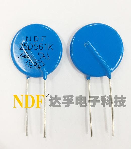 NDF为你讲解选用氧化锌压敏电阻器的注意事项