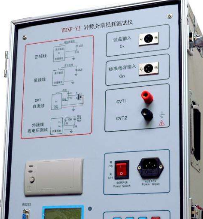 容性设备质损耗带电测量系统的技术参数