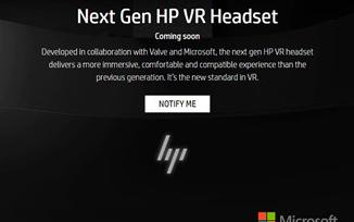 微软和Valve助力惠普新款VR头盔推出