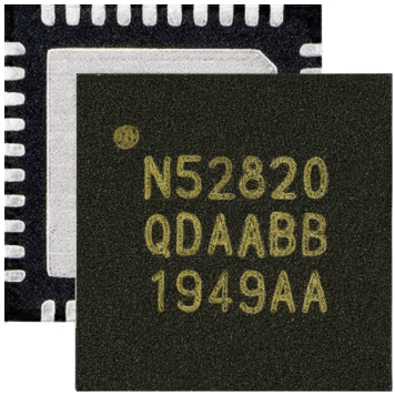 Nordic nRF52820蓝牙5.2 SOC...