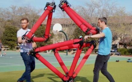 科学家研发可变形充气机器人,拥有很高的智能程度