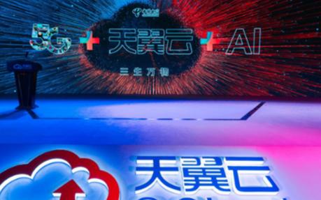 """中国电信利用5G+天翼云的云网融合优势建成""""2+..."""