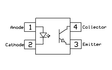 CT816D3直流输入4针光电晶体管光耦的数据手册免费下载