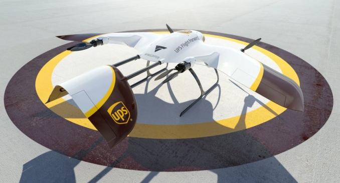 UPS與Wingcopter攜手建立多種交付無人...