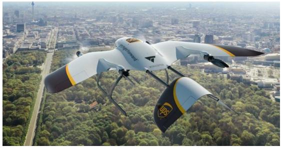 UPS與Wingcopter攜手開發新型快遞無人...