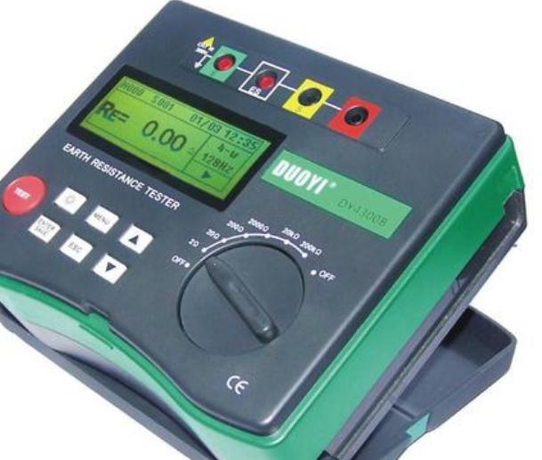 数字式接地电阻表的结构特点与技术指标