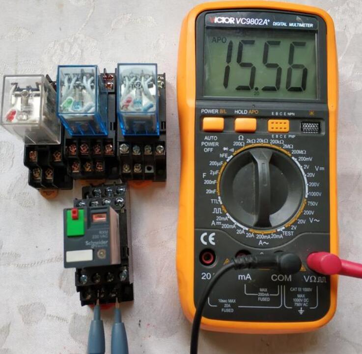 中间继电器用万用表怎么测好坏_中间继电器故障有哪些