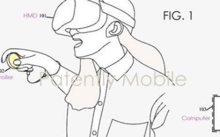 Facebook新专利曝光,用于VR虚拟键盘触控板