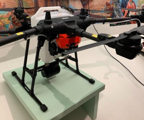 大疆农业植保无人飞机T16向全球展示中国现代农业...