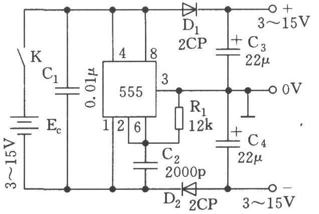 三款单电源转换双电源电路图分享