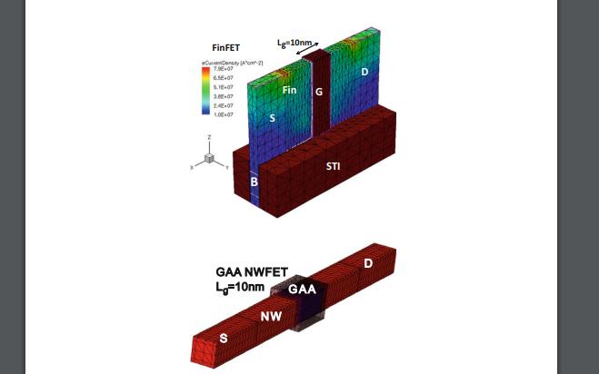 CMOS纳米电子器件的三维TCAD模拟PDF电子书免费下载