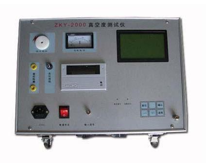 真空度测试仪的性能指标