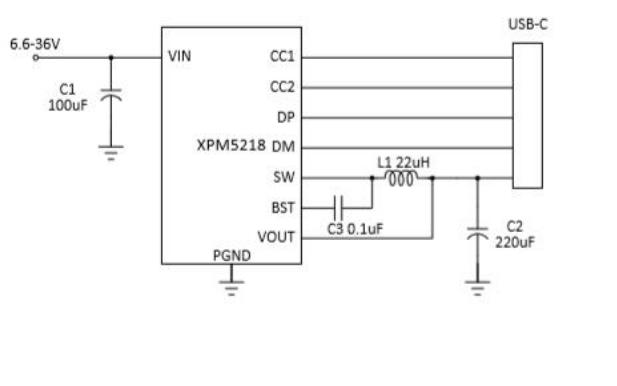 XPM5218A同步降压转换器使用说明