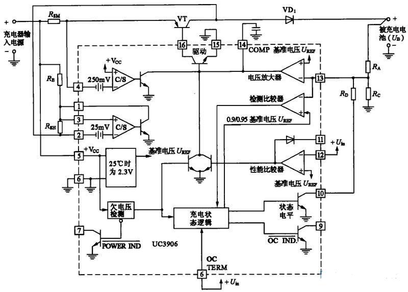 三款UC3906典型应用电路分享