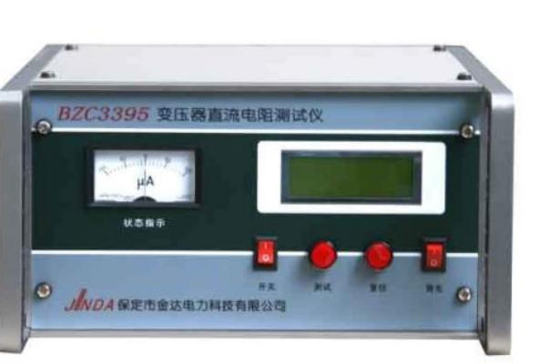 直流电阻测试仪的接线方法及操作方法