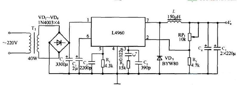 CW4960典型应用电路图
