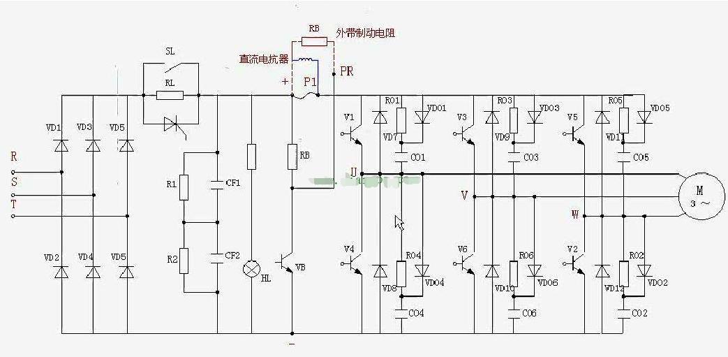变频器这种若隐若现故障该如何检测维修?