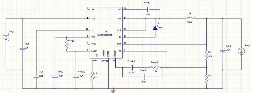 LM5005典型应用电路图