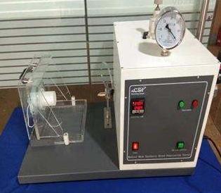 医用口罩合成血液穿透测试仪的技术参数及试验步骤