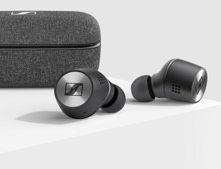 森海塞尔MOMENTUM真无线二代参数公布,采用了ANC主动降噪技术