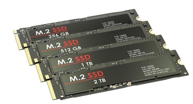 固态硬盘常用的五种硬盘接口