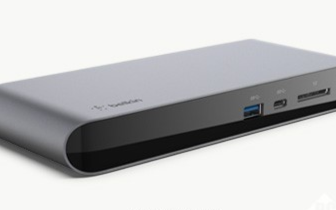 Belkin推出雷电3扩展基座Pro,支持MacBook和Windows PC双系统