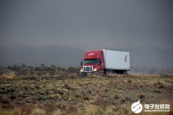 图森未来展示自家无人驾驶卡车 可视距离高于世界上...