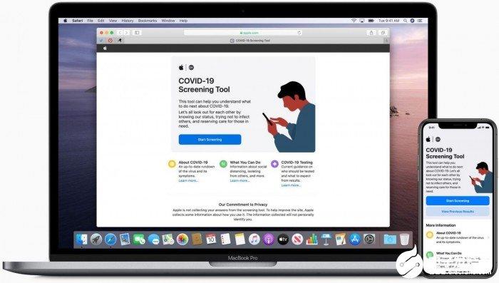 苹果宣布推出用于COVID-19筛查的特殊应用程序和网站 并可通过Siri语音助手提供帮助