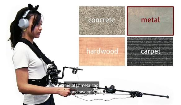 微软研究院展示类似拐杖的VR控制器