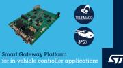 ST推出域控(kong)制器應用的智能網關平台