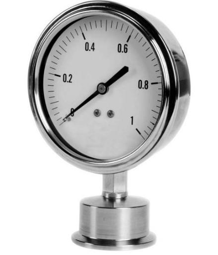 耐高温隔膜压力表的安装说明