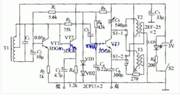 信号发生器的电路原理图