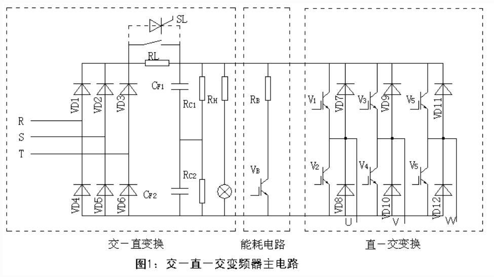 变频器的主电路原理