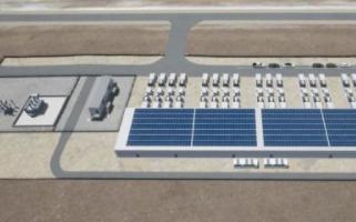 澳大利亚建设太阳能发电厂和电池储能设备,总发电量...