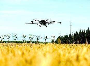 重庆首架5G网联植保无人机试飞成功,作业效率达到300-400亩/天