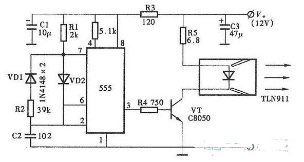 CX20106典型应用电路图