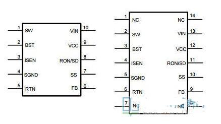 LM5010A引腳功能_LM5010A典型應用電路